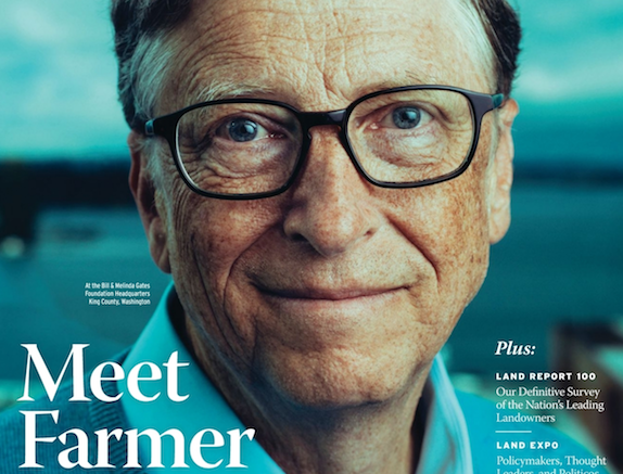 -Bill Gates, le plus grand propriétaire agricole des USA (The Land Report)